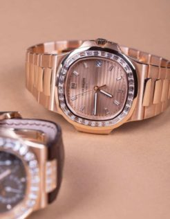 A luxury watches